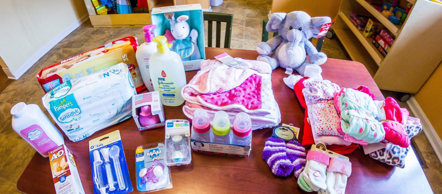 Table of crisis nursery donations
