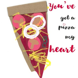 You've Got a Pizza My Heart Canvas