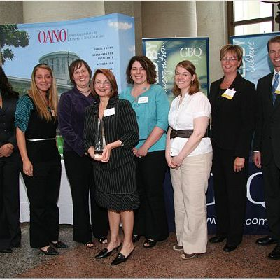 Non Profits (OANO) Excellence Award